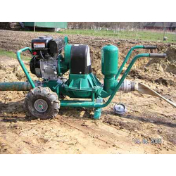 Caffini LIB/1-3 P43/AL-NBR/Hatz1B20+T Мотопомпа дизельная для густых и вязких жидкостей Caffini Дизельные Мотопомпы