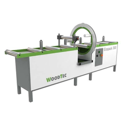Woodtec Ecopaсk 300 Станок для упаковки изделий стрейч пленкой Woodtec Упаковка лентой Лесопильные станки